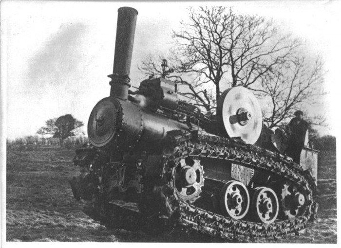Трактор Хорнсби (10 фото)