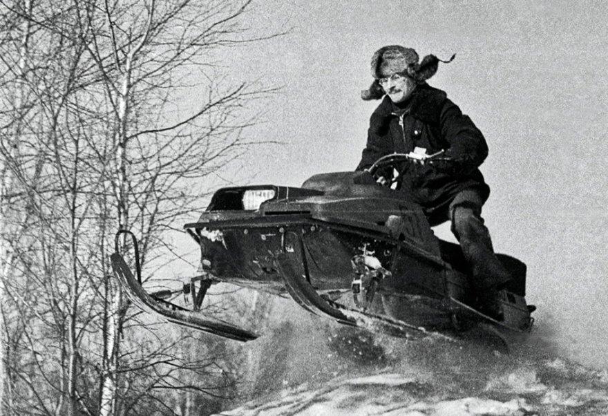 Cнегоход-долгожитель