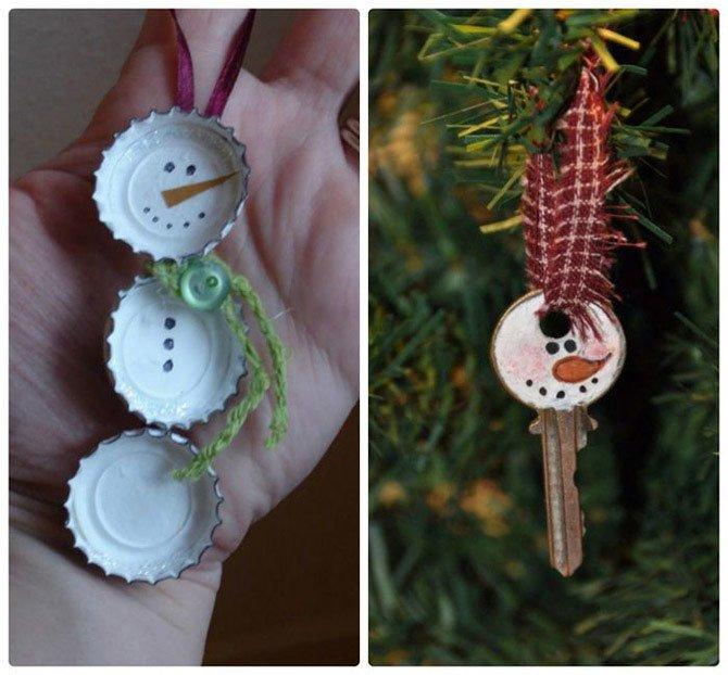 Как украсить елку игрушками, сделанными своими руками