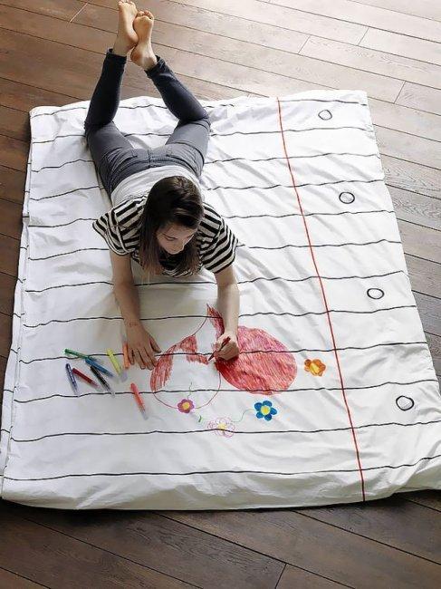 Креативное постельное белье (10 фото)