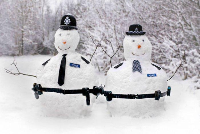Креативные снеговики от людей с отличным чувством юмора (15 фото)