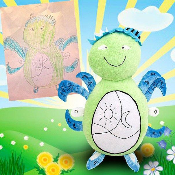«Ожившие» детские рисунки