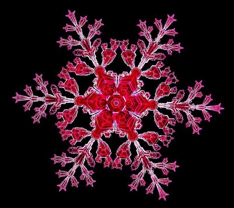 Лабораторные снежинки
