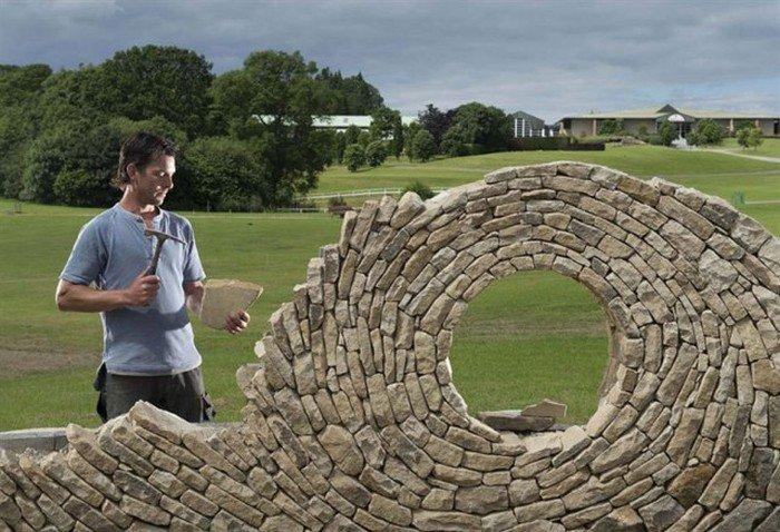 Великолепные работы из камня