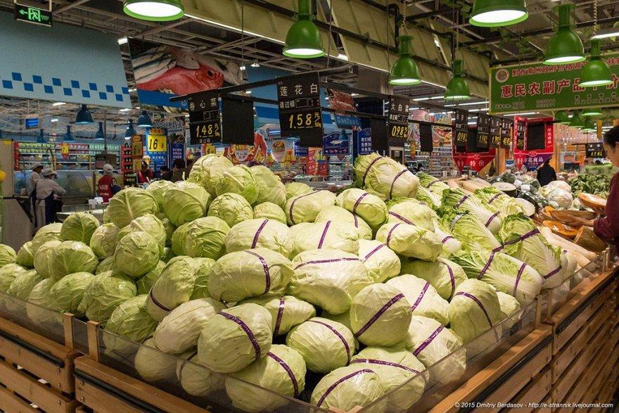Прогулка по китайскому супермаркету