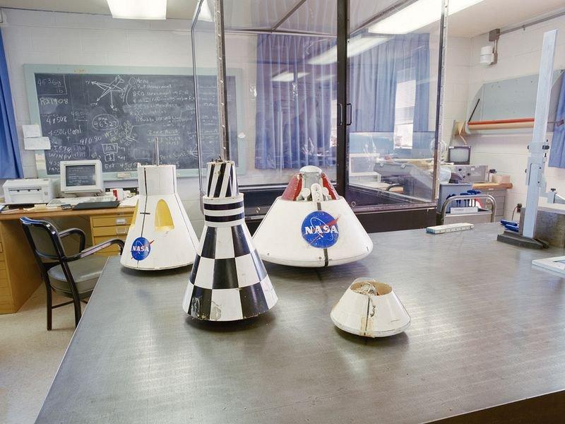 Заброшенные объекты NASA