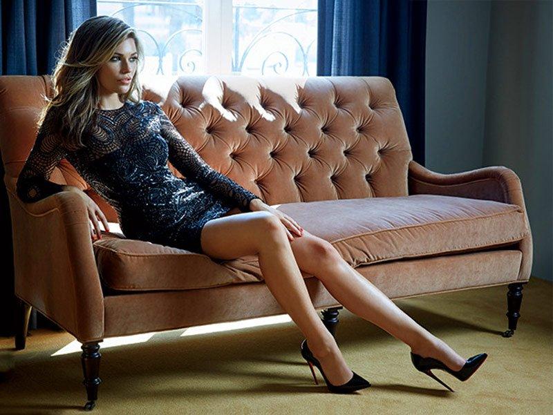 Американская модель Саманта Хупс, мечтавшая стать хоккейным тренером (9 фото)