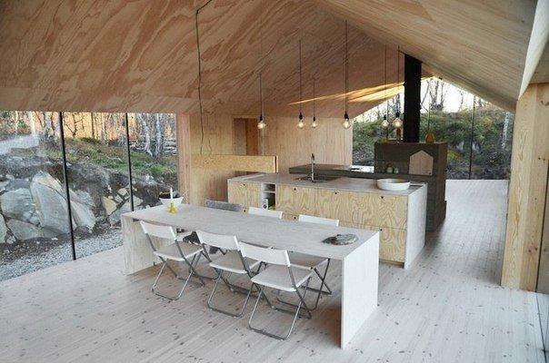 Уютный дом в норвежском городке Ол