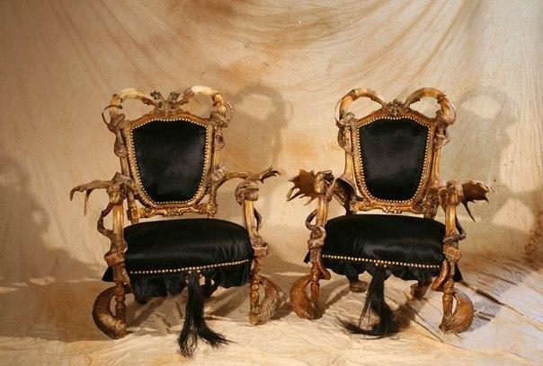Диковинная мебель от Мишеля Аяра
