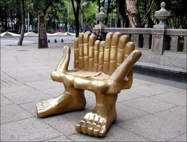Забавные скамейки