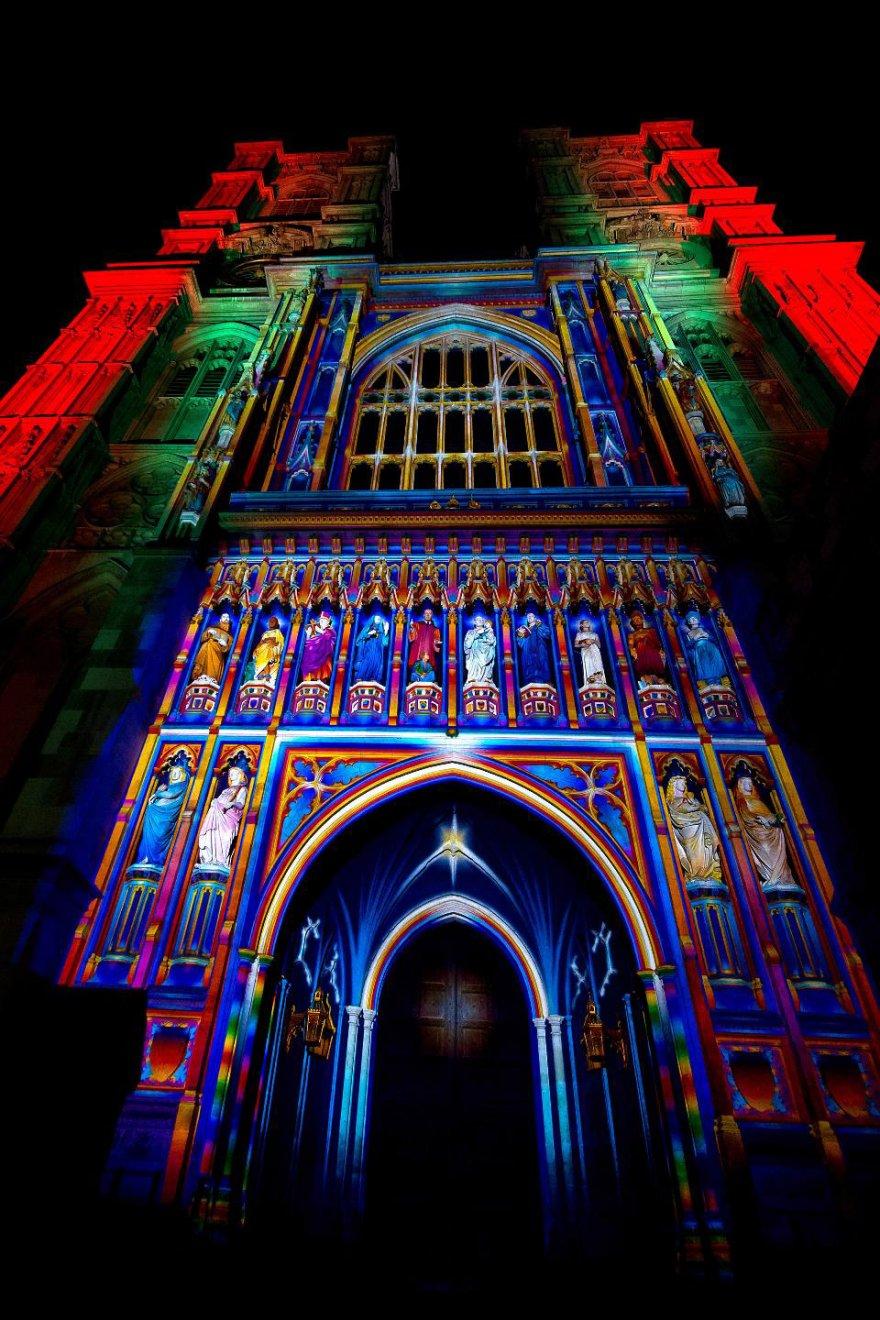 Фестиваль света в Лондоне