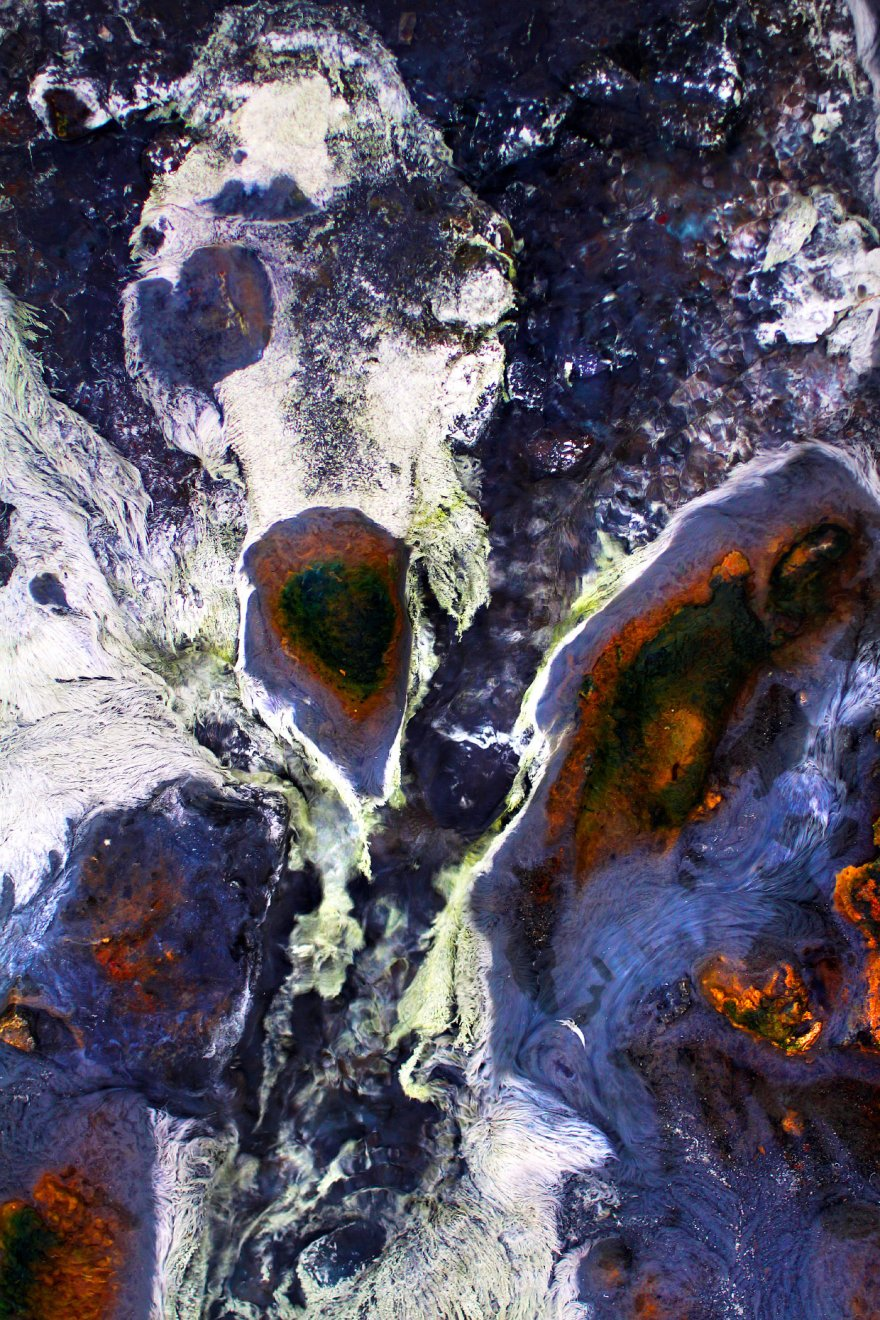 Крупный план: горячие источники Исландии