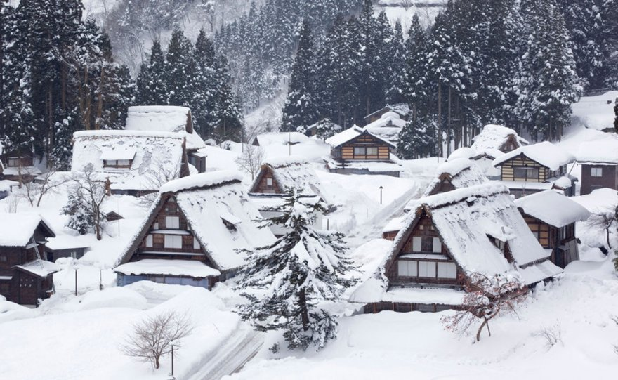 Снежные города