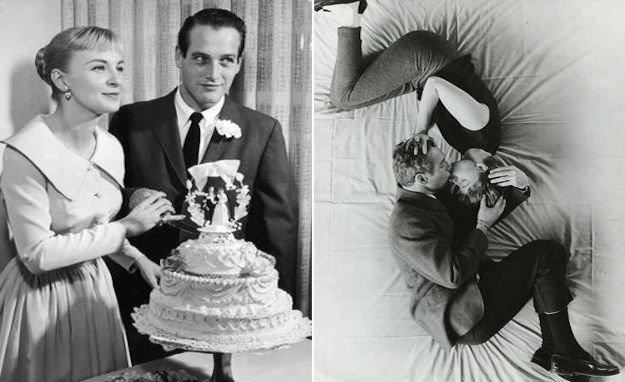 Письмо Пола Ньюмана к своей жене в день их свадьбы