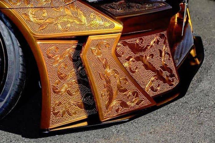 Cложная покраска автомобиля (25 фото)