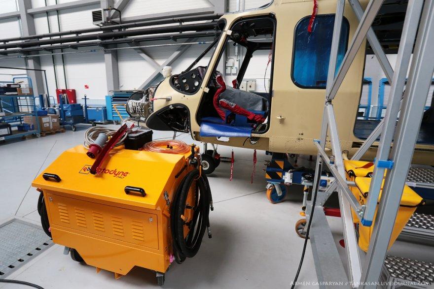 Как происходит сборка вертолета