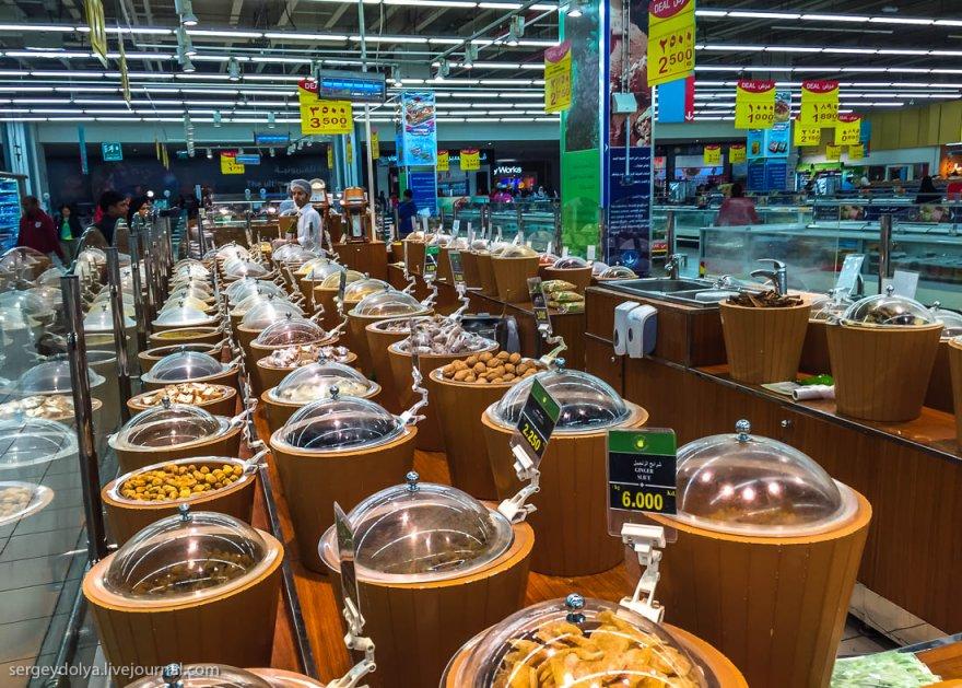 Супермаркет в Кувейте: что едят и сколько это стоит