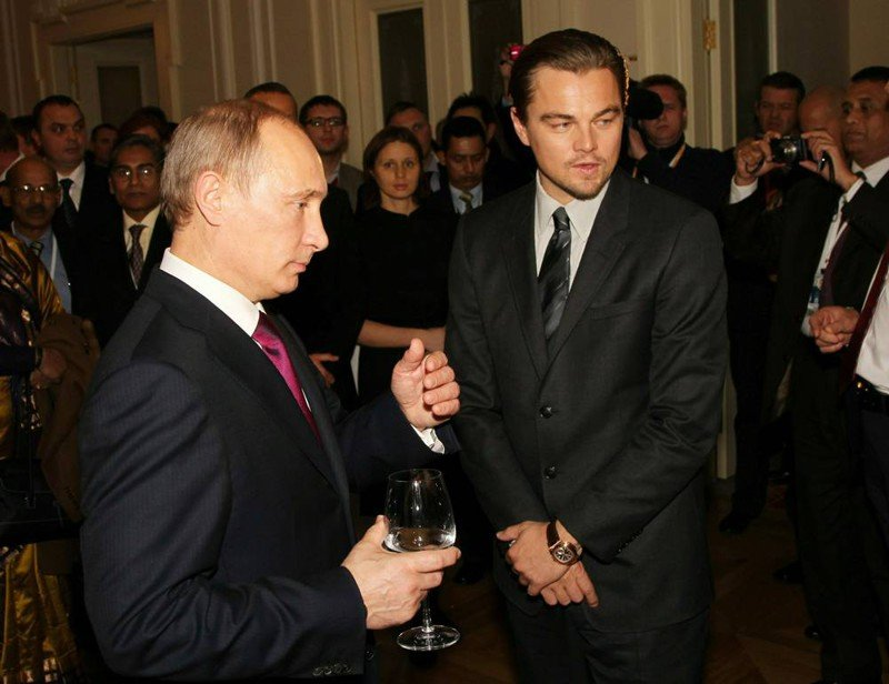 Леонардо Ди Каприо сыграет роль Путина (5 фото)