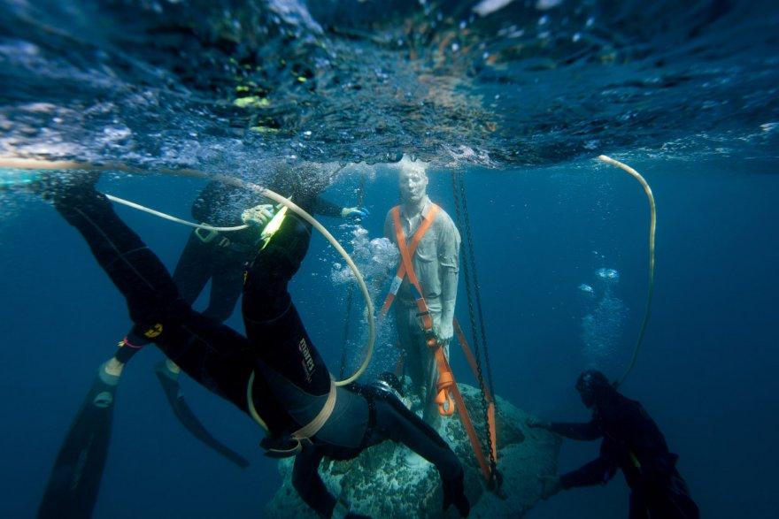 Первый подводный музей