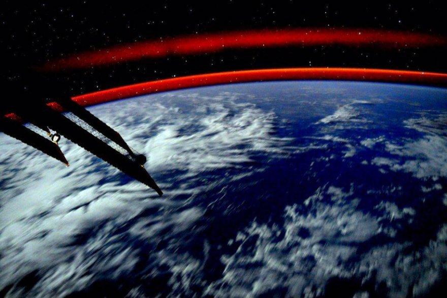 Снимки астронавта Скотта Келли с борта МКС