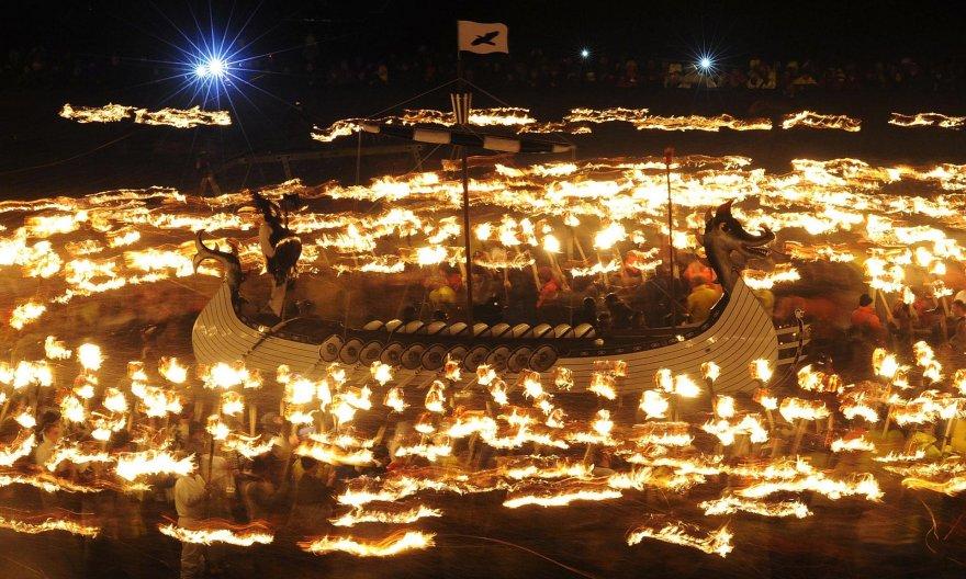 Тысячи шотландцев попали в скандинавский рай