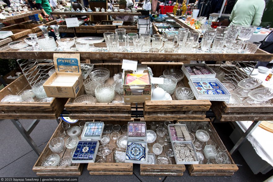 Блошиный рынок в Японии