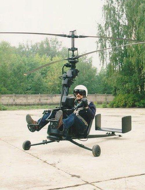 Одноместный разборный  вертолет для Минобороны СССР (5 фото)