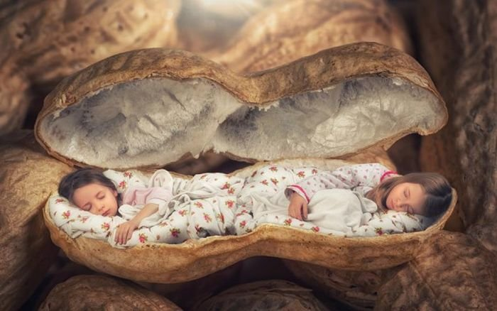 Удивительные изображения детей при помощи фотошопа (20 фото)