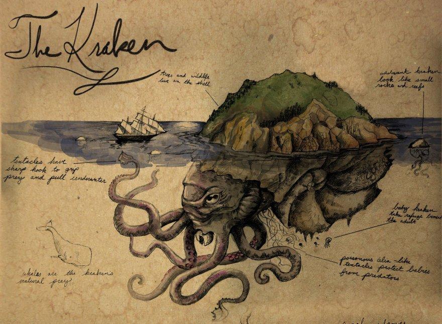 Cамые жуткие твари из скандинавских легенд