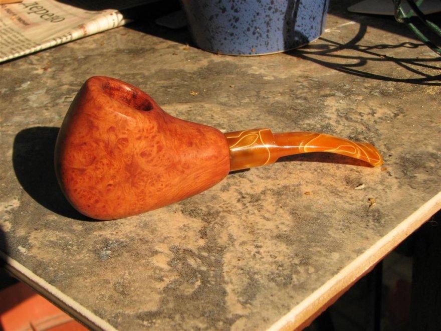 Процесс изготавления курительных трубок
