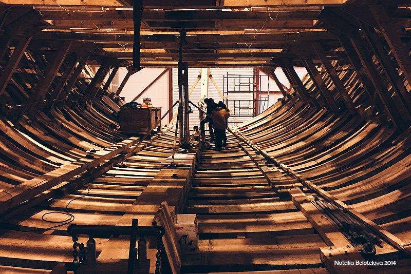 Cтроительство деревянных судов