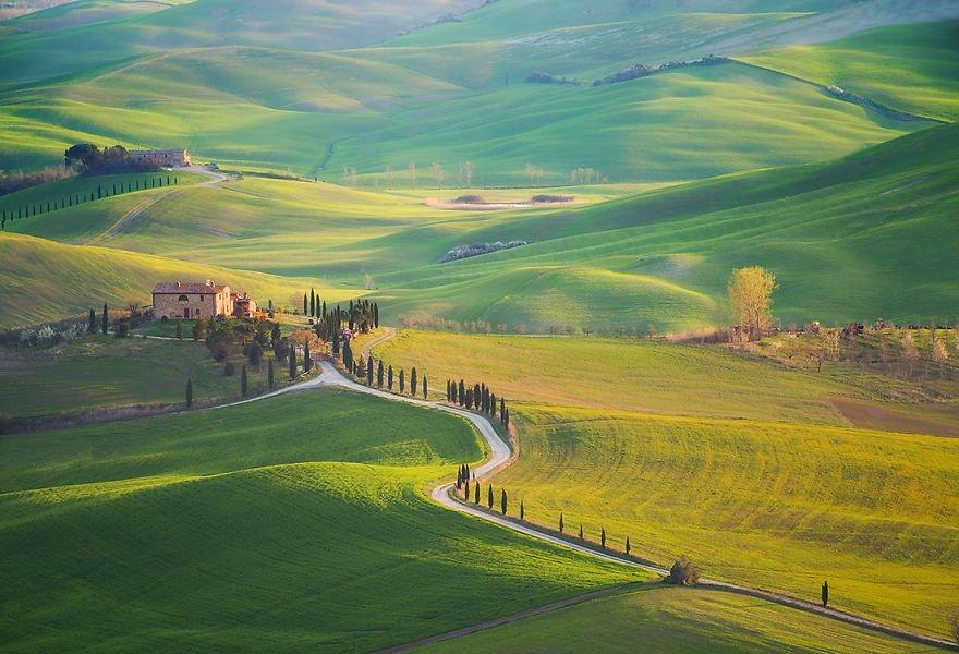 Необычные фотографии Тосканы