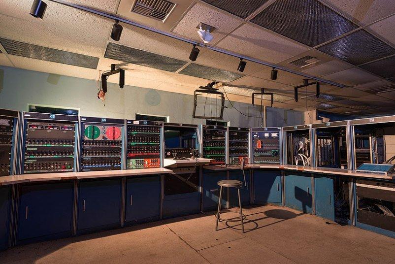 Заброшенная полевая лаборатория NASA