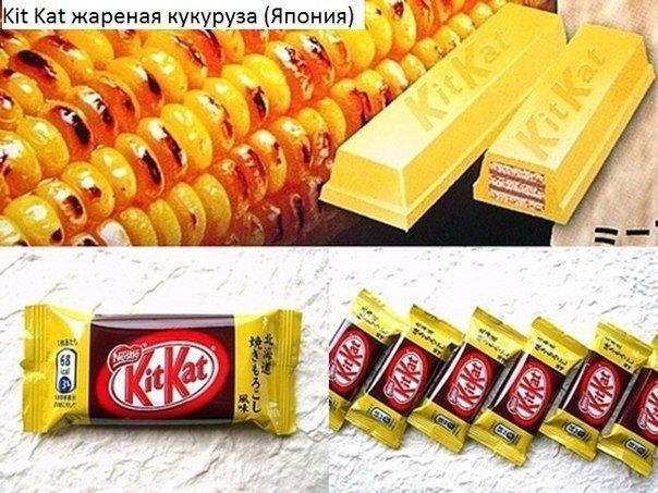 Cтранные продукты, которые продаются только в других странах