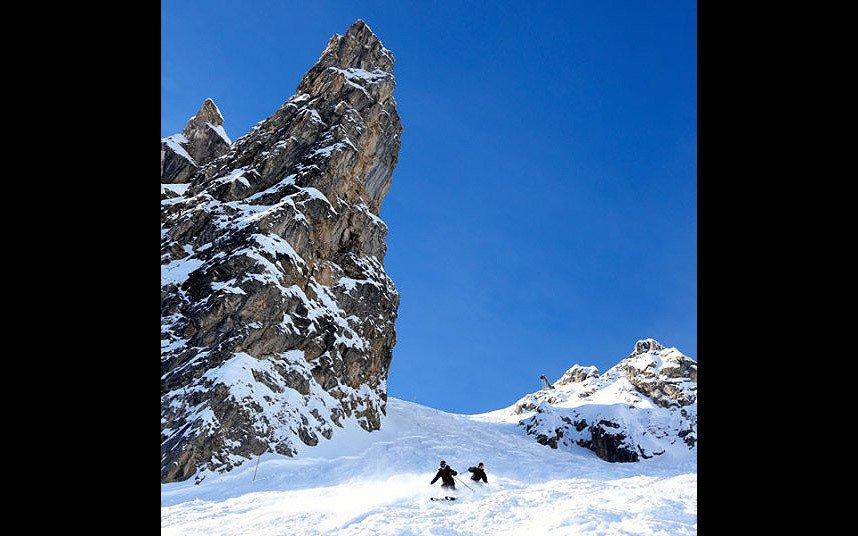 Наиболее опасные горнолыжные трассы