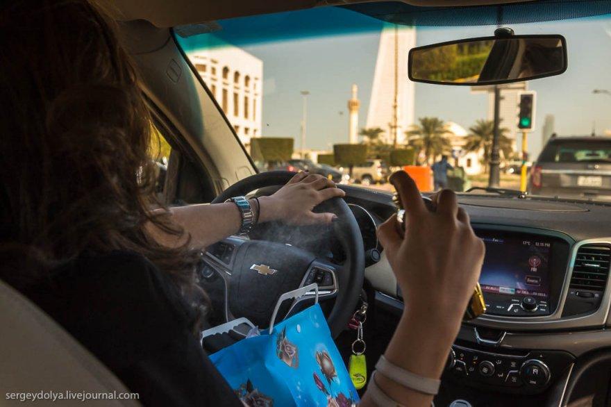 Как душатся арабские женщины