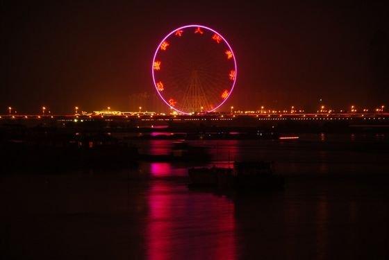 Самые высокие построенные колеса обозрения в мире