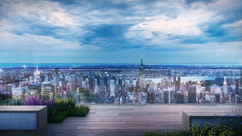 Интересный проект бизнес-центра с каскадными террасами в Нью-Йорке