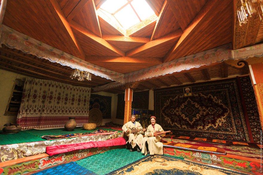 Устройство Памирского дома