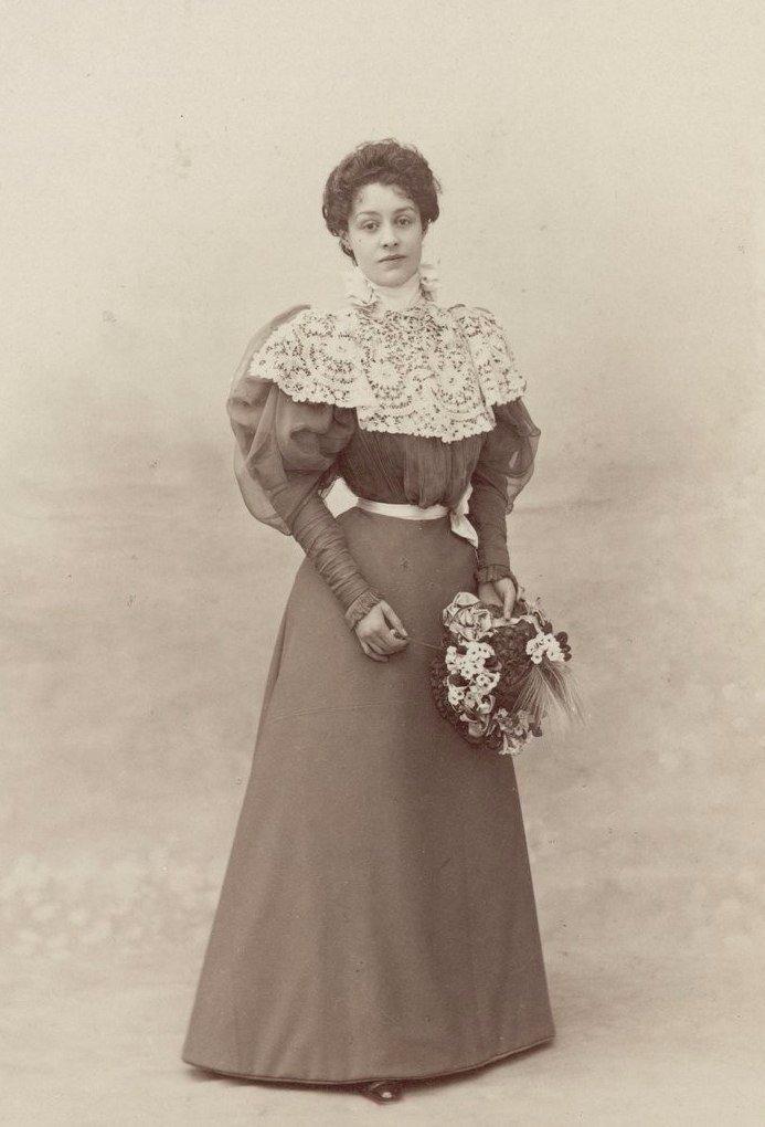 Парижская мода конца XIX века