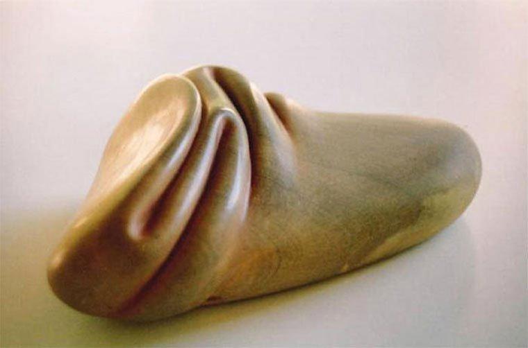 Cкульптор, который владеет искусством мять камни