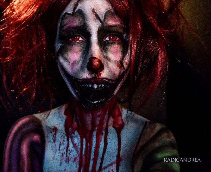 Девушка-визажист превращает себя в жутких монстров (30 фото)