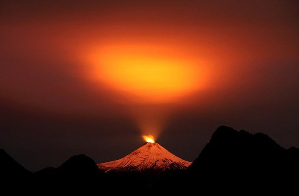 Впечатляющие снимки извержений вулканов