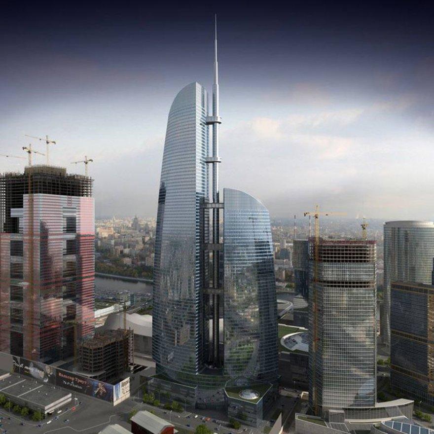 Высокие небоскребы, которые будут достроены в 2016 году