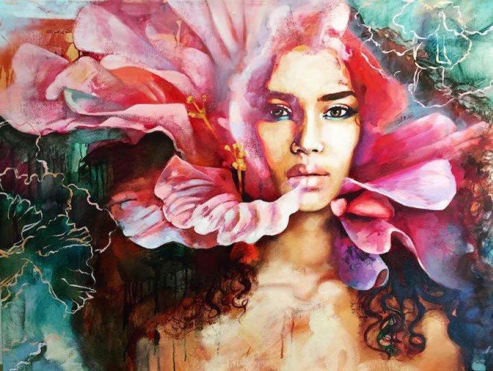 16-летняя художница рисует потрясающие сюрреалистичные картины