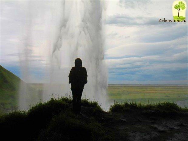 Селйяландсфосс — самый необычный водопад Исландии
