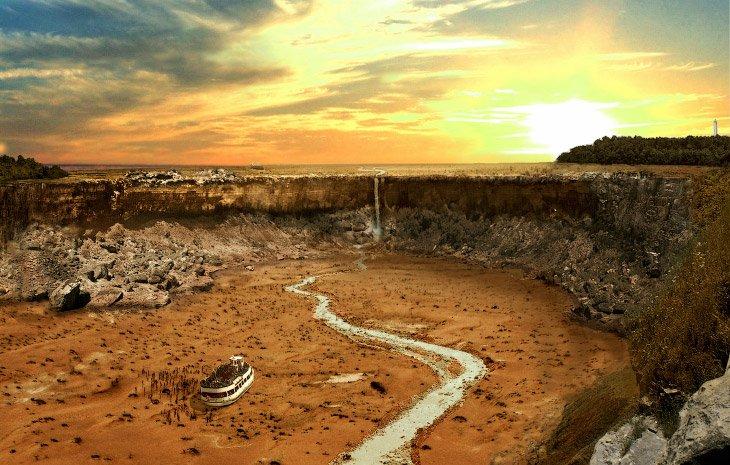 Мировые достопримечательности после великой засухи