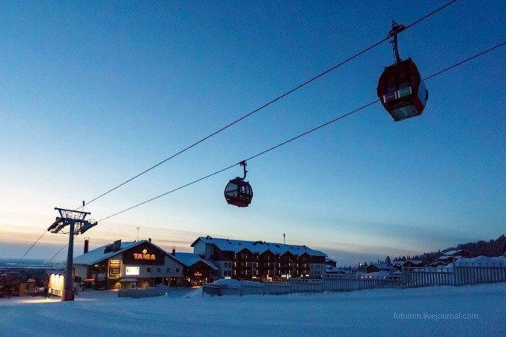 Снежные ландшафты. Финляндия