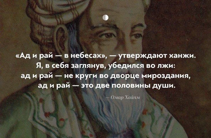 10 интересных цитат Омара Хайяма