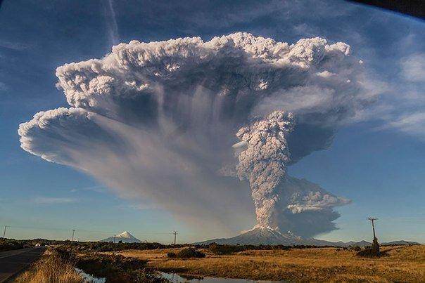 Вулкан, проснувшийся через 42 года